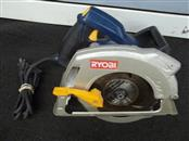 "RYOBI CSB142LZ 7-1/4"" 14 AMP CORDED CIRCULAR SAW **CORD IS FRAYED AND HAS TAPE**"